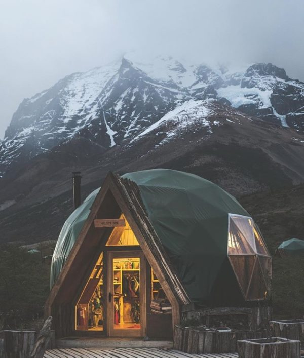 Sasha Juliard's Adventure to a Tiny Dome Cabin at EcoCamp Patagonia