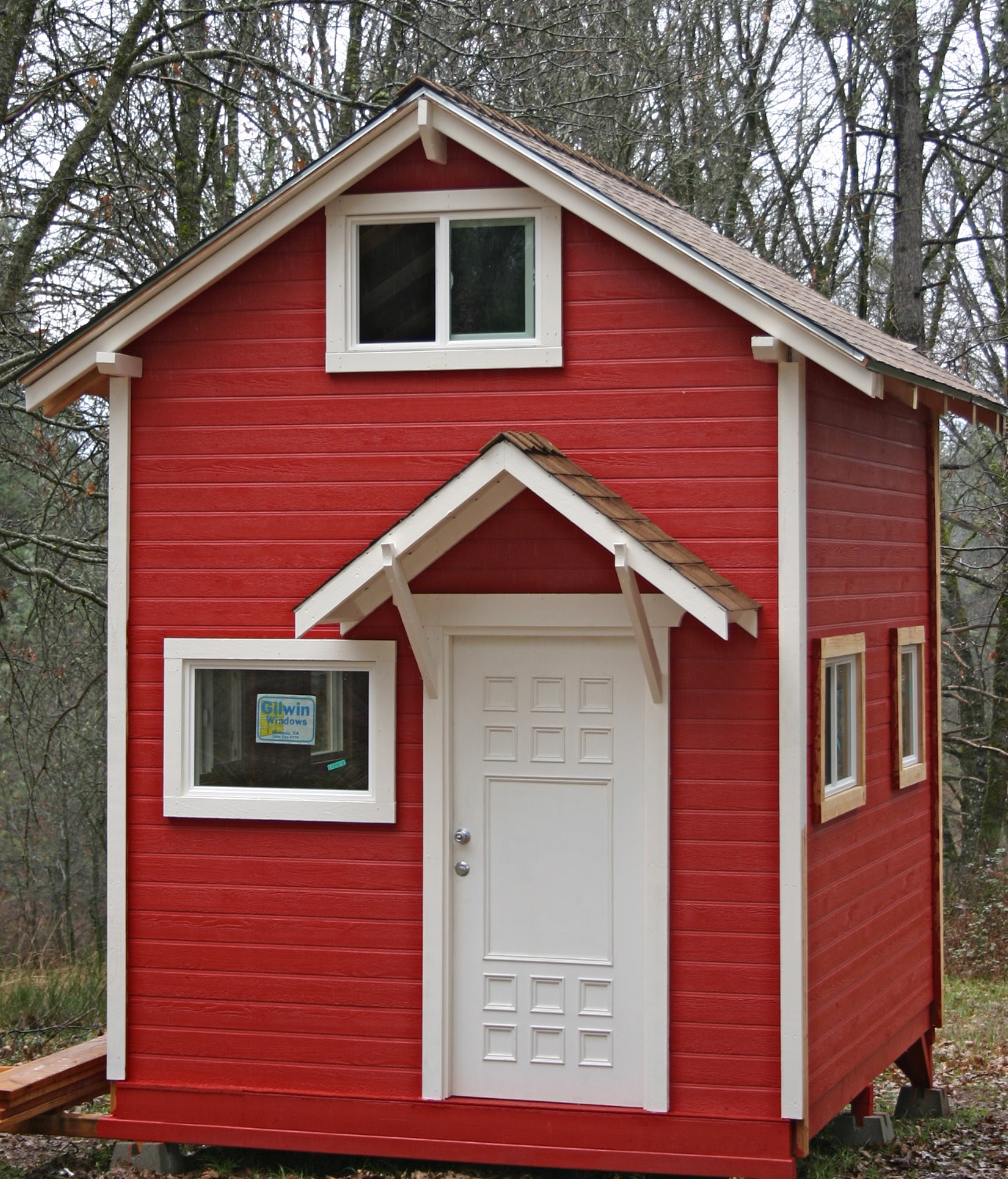 Tiny Home Designs: 10'x12' Tiny Garden House Cottage