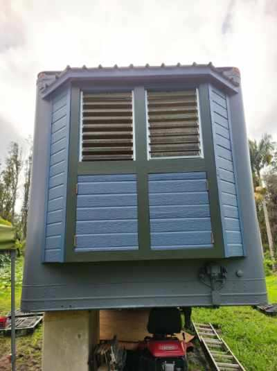 Tiny House Being Built In An Insulated Semi-Truck-Trailer in Hawaii 002