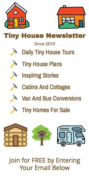Tiny House Newsletter 2021 Long Sidebar