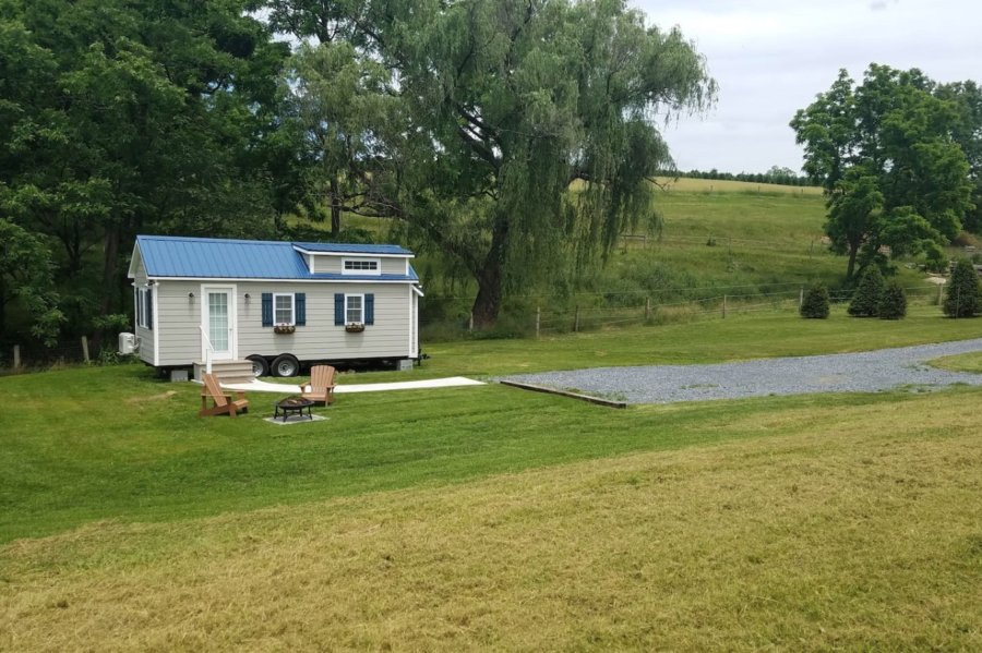 Tiny House on a Farm in Lititz PA for Rent via Matt and Monica Airbnb 003