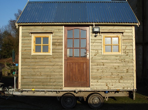 Tiny Shed on Wheels
