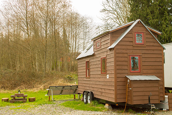 Tiny Tack House Exterior