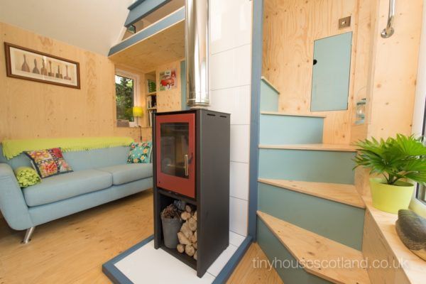 The NestHouse Tiny Home in Scotland