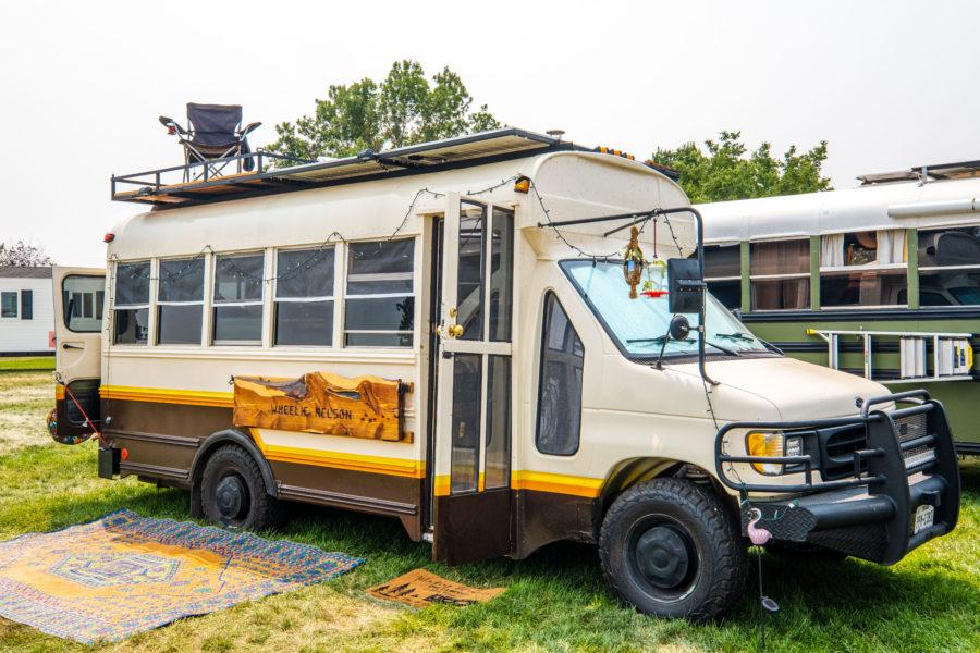Toilet Under Woodstove! Amazing $35K Bus Build 3