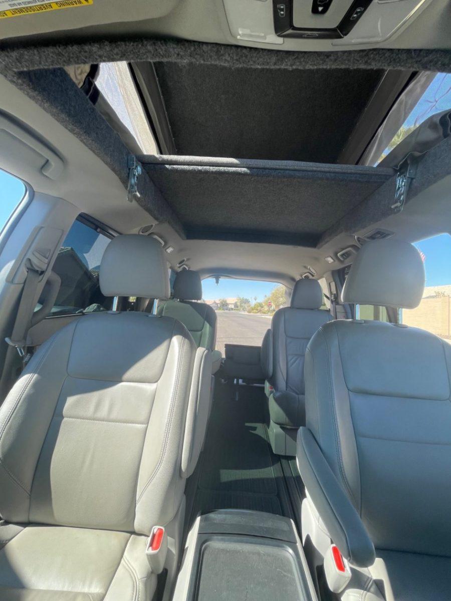 Toyota Sienna Minivan Pop-Top Camper by GTRV via Van Life Trader 002