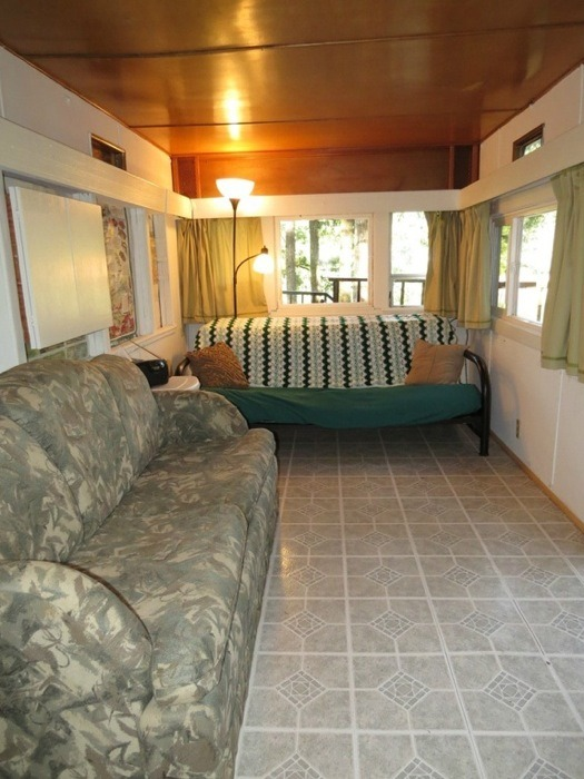 Flatbed For Sale >> 352 Sq. Ft. Travel Trailer to Cabin Conversion For Sale