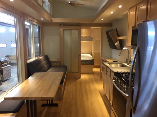 Traveler XLS Wide Tiny Houses via ESCAPE 003