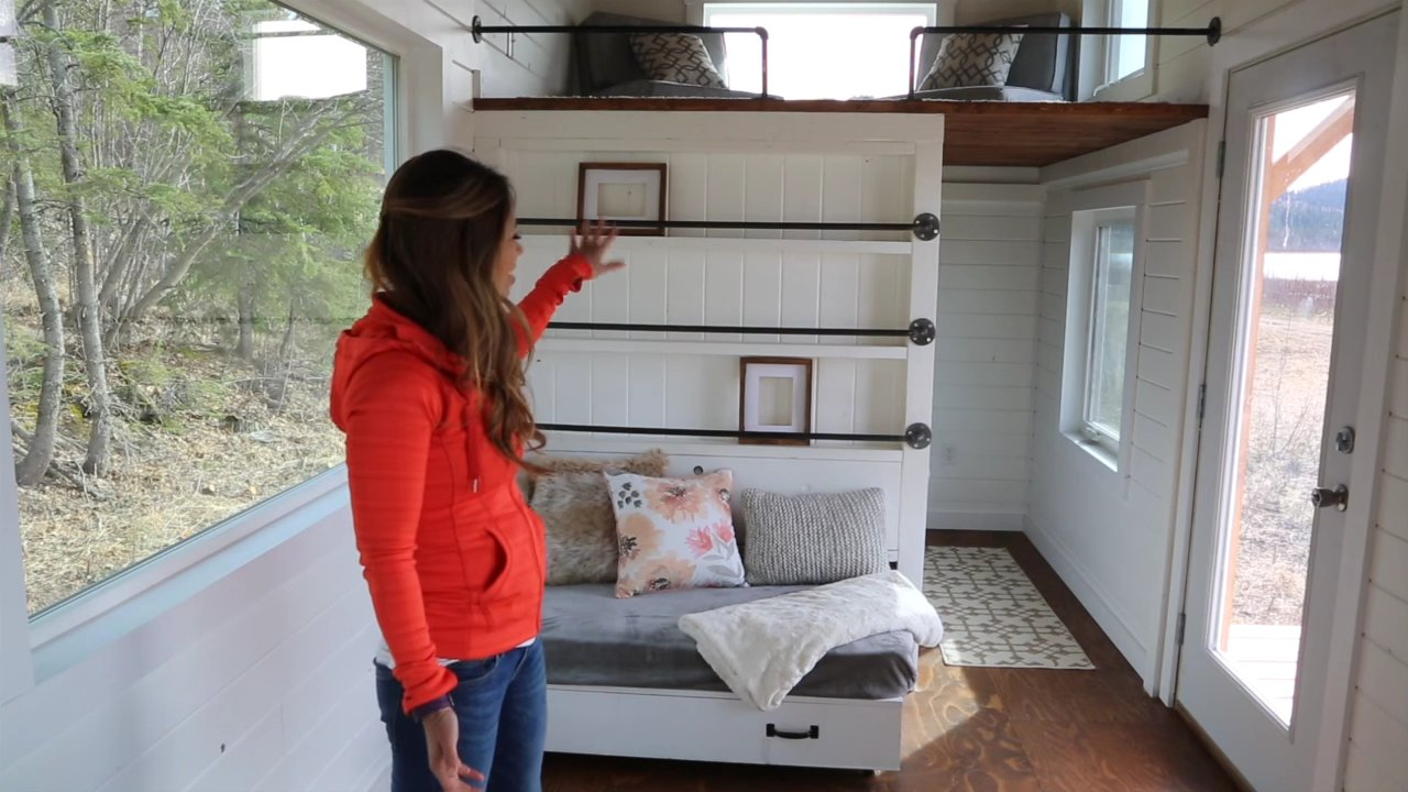 Triple Bunk Bed Tiny House Design