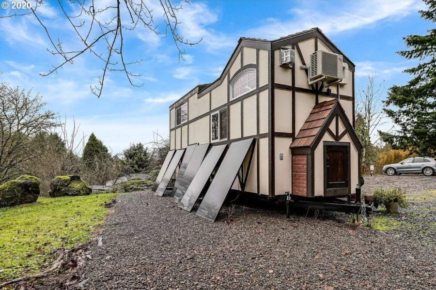 Tudor Style Tiny House by Tiny Heirloom on the Market via WVMLS Zillow 0011