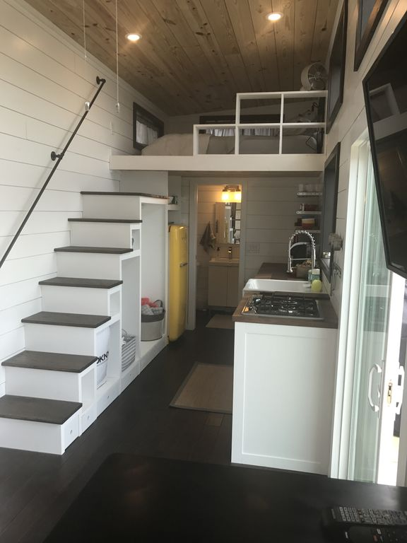 Two Waterfront Tiny Homes