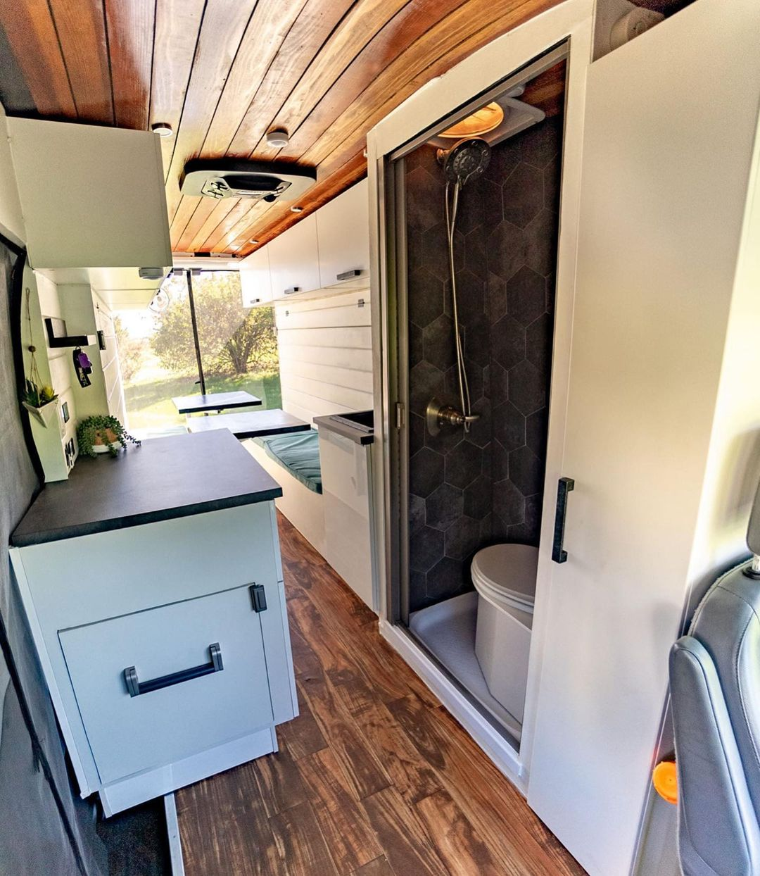 Ultimate Transit Van Conversion With 2 Murphy Beds For Sale