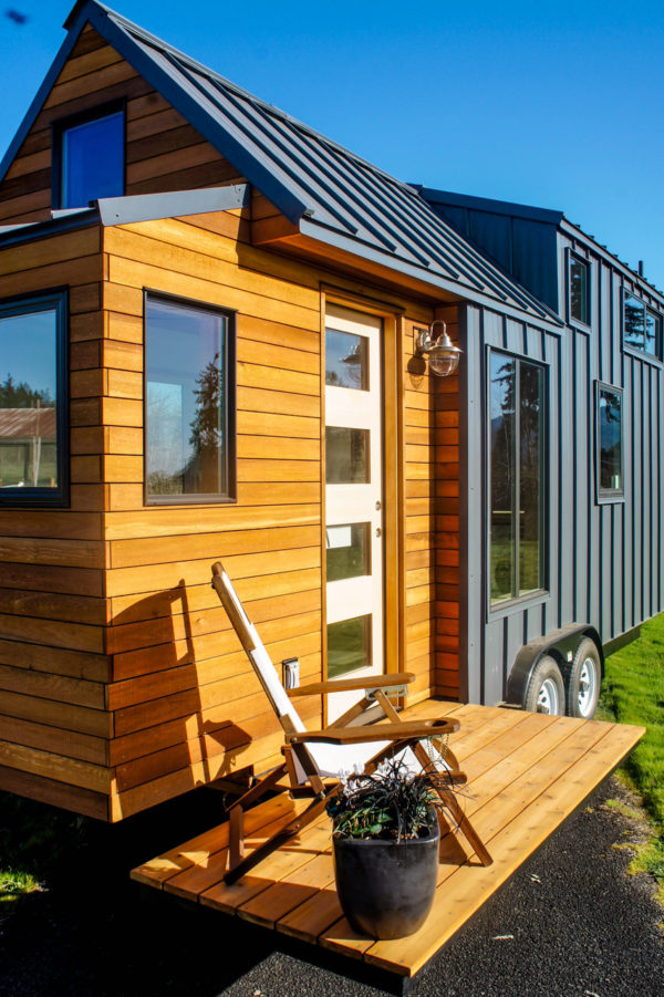 Kootenay Urban 22ft Tiny Home With Bump Out