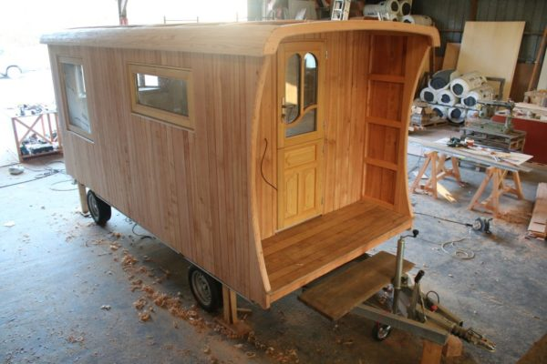 Vardo-style Marchagane Tiny House on Wheels by Ty Rodou