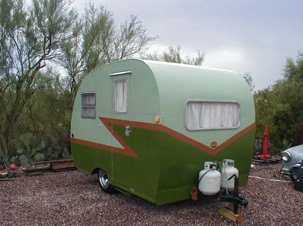 1949 Vintage Travel Trailer For Sale