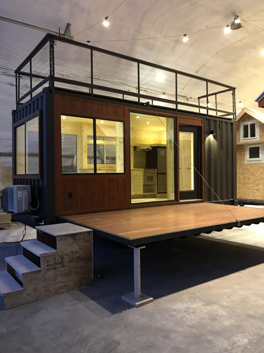 Vista C Shipping Container Tiny House E