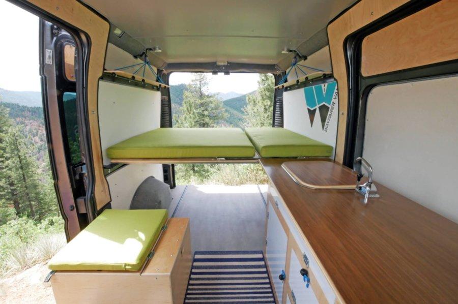 Walter Camper Van Conversion Kit from Wayfarer Vans 009
