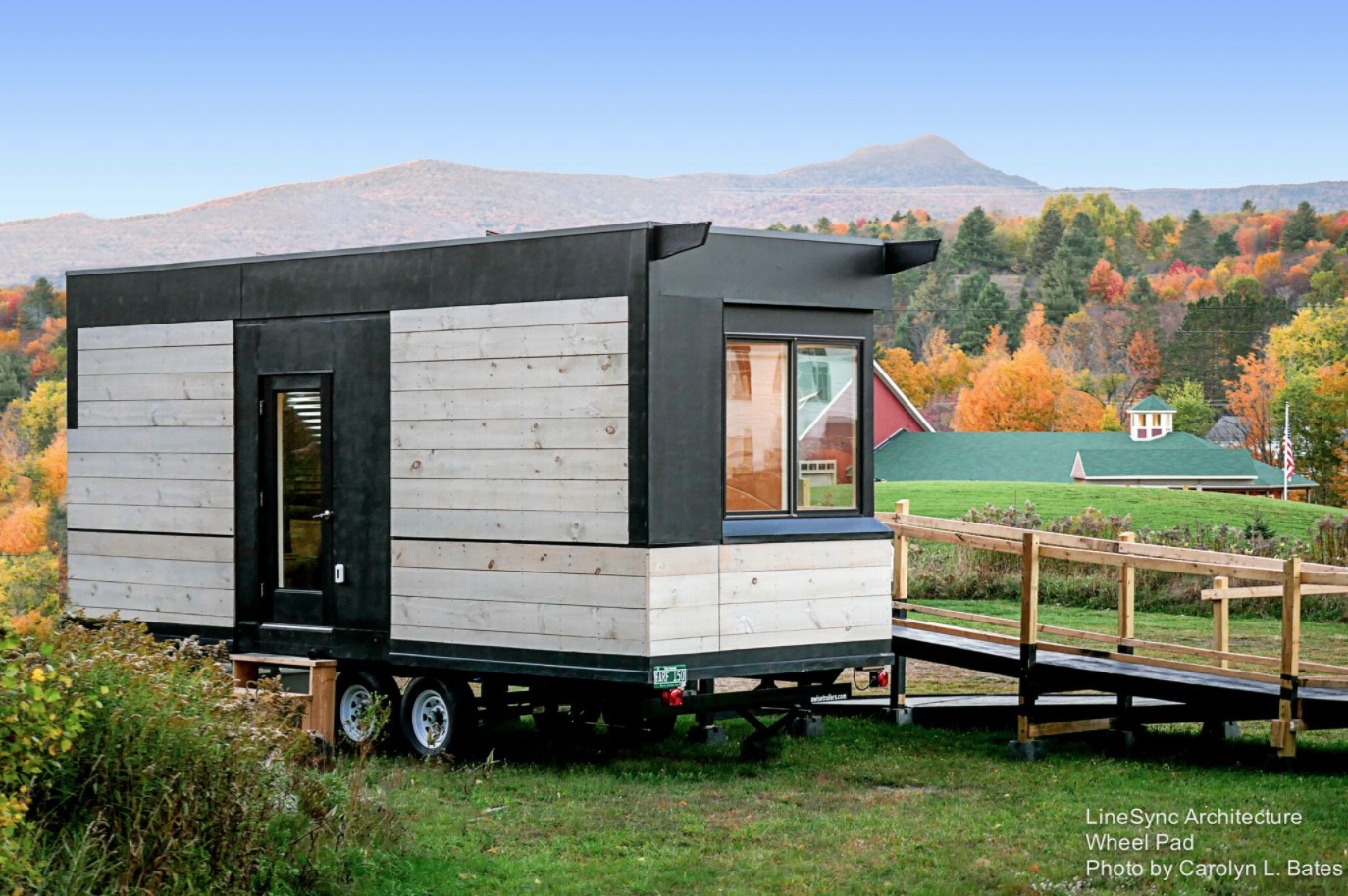 The Wheel Pad Tiny Home on Wheels thats Wheelchair Friendly