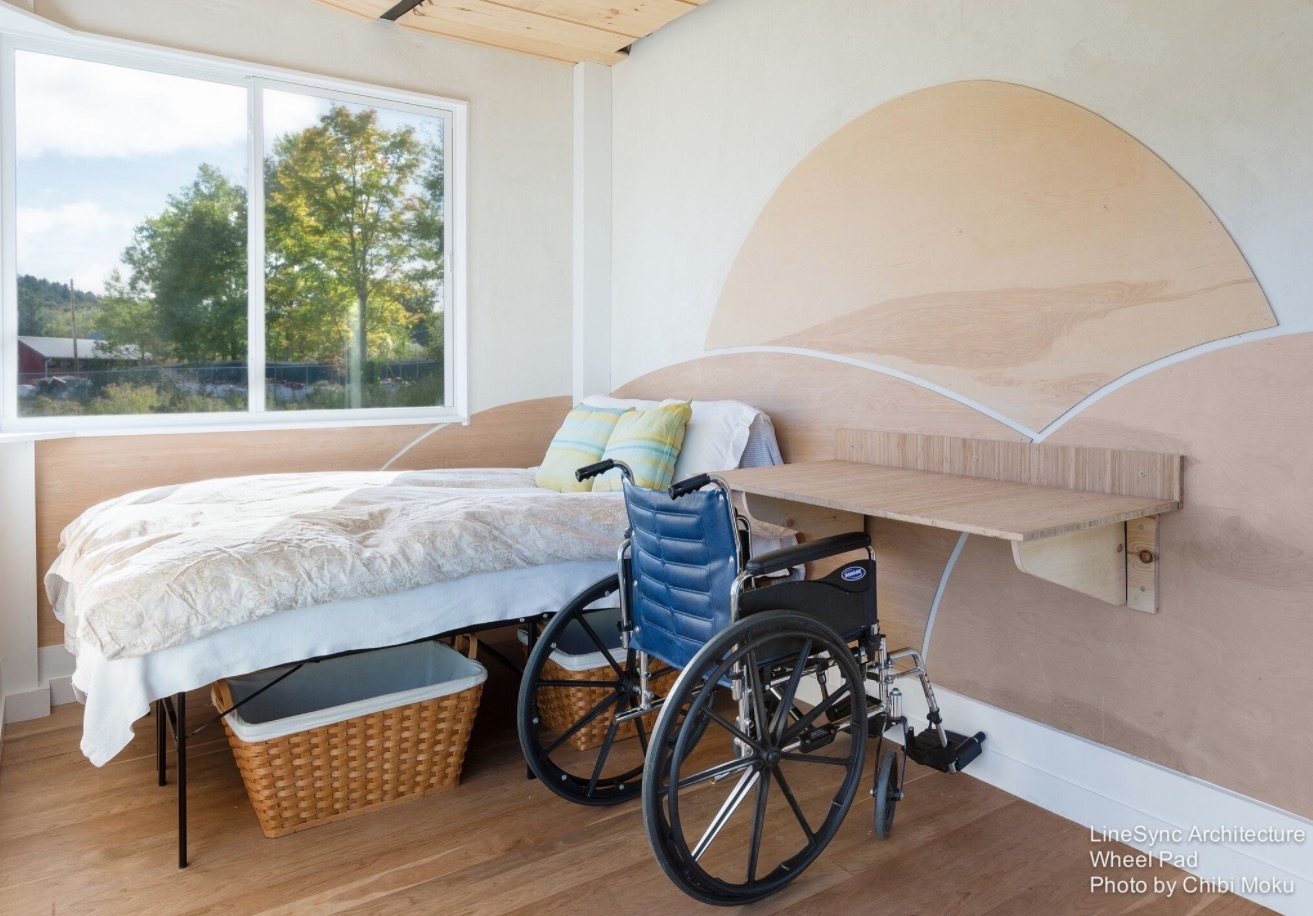 Wheelchair-Friendly Tiny House