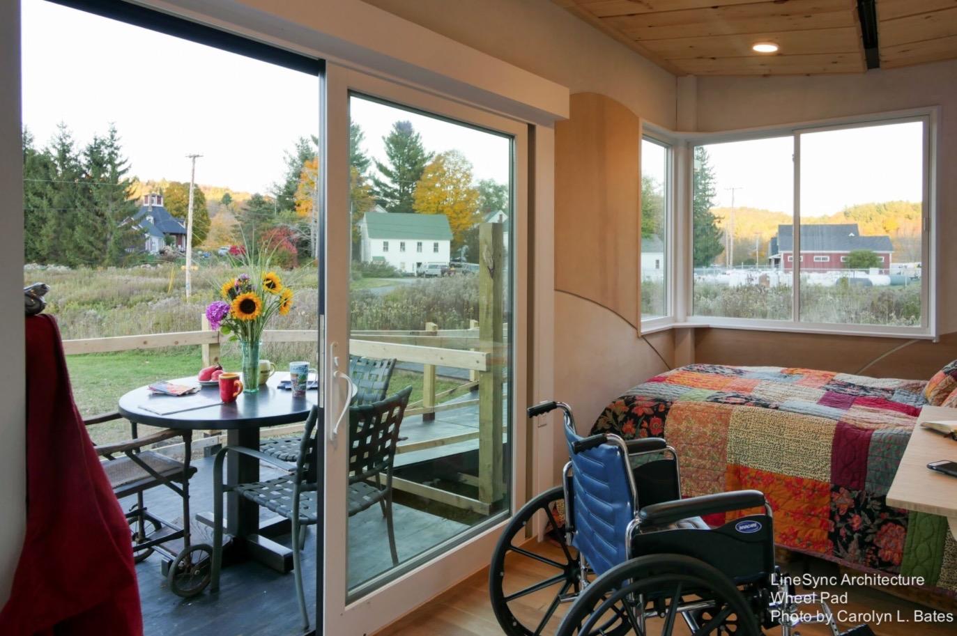 Wheelchair-Friendly Tiny House
