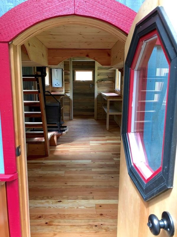 Whimsical Caravan Tiny House by Rogue Valley Tiny Home Construction 001b