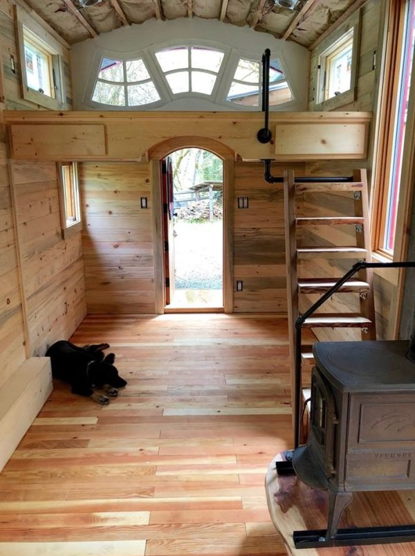 Whimsical Caravan Tiny House by Rogue Valley Tiny Home Construction 004