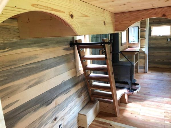 Whimsical Caravan Tiny House by Rogue Valley Tiny Home Construction 005