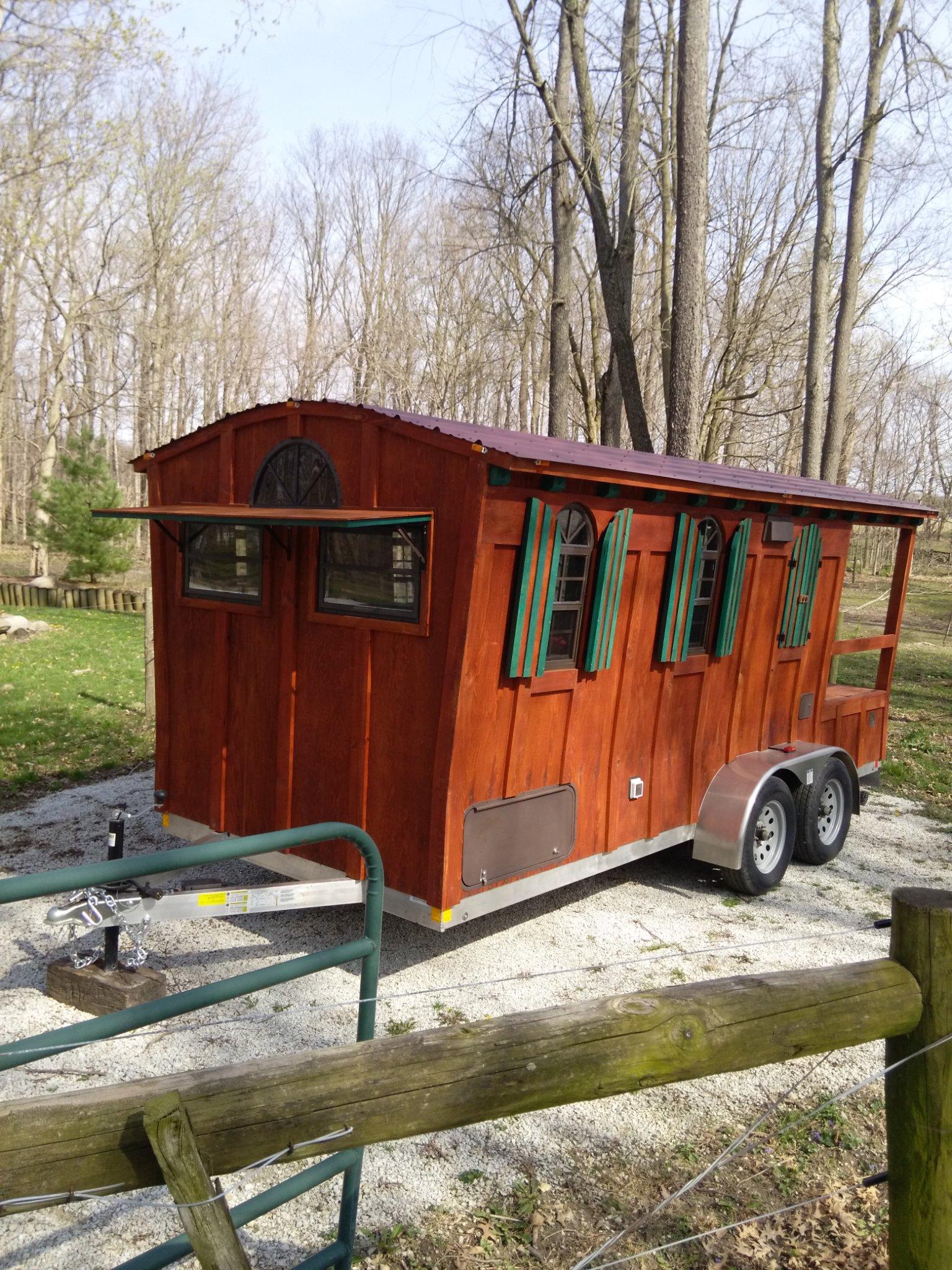 16 Ft Gypsy Wagon Woolywagon Tiny House For Sale