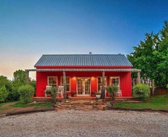 Young Family's Debt-free Tiny Home on a Foundation in Oklahoma
