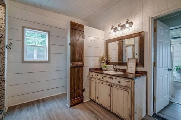 Young Familys Tiny Home on a Foundation – Ruthardt Family – Plans to Build Your Own Available