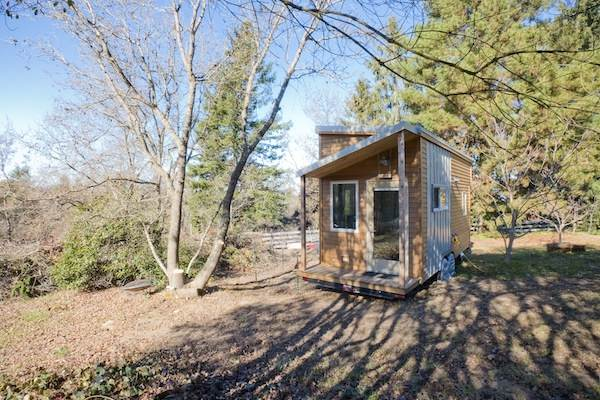 Alek, Anjali & Anya's Mortgage-free DIY Tiny Home on Wheels