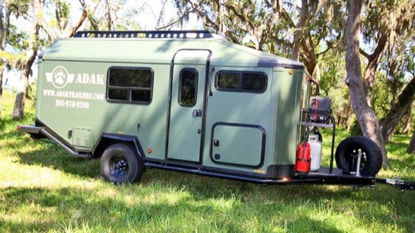 Off Grid Micro Cabin Trailer