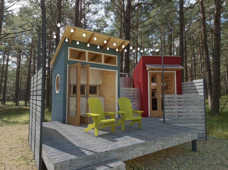 Adam Rasmussen S Tiny Two Fer House Design