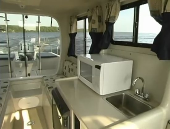 Adventure Craft AC2800 Mini Yacht CABINYACHT Small House Boat