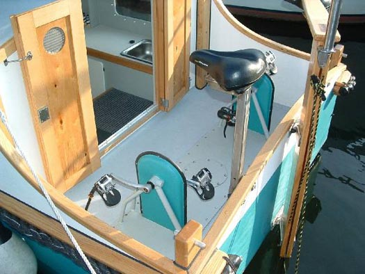 Pedaling Afloat With Phil Thiel S Tiny Houseboats