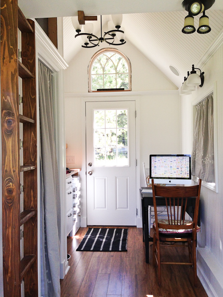 Almost glamping tiny house