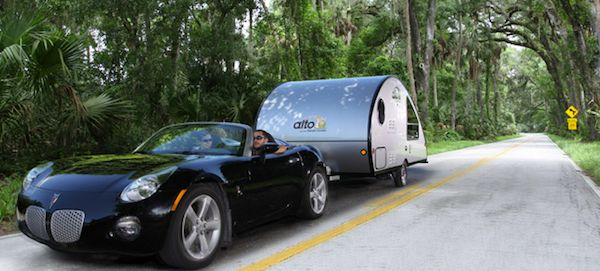 Expandable Travel Trailers >> Alto Safari Condo is a High Tech and Lightweight Teardrop ...