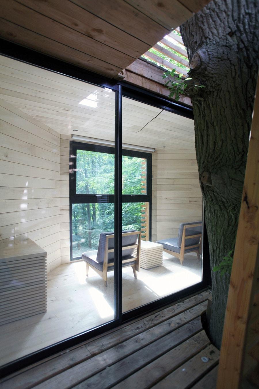 """ORIGIN: Treehouse """"Dress"""" For a 100-Year-Old Oak 7"""