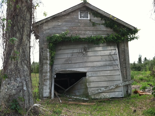 Old Beat Up Shed