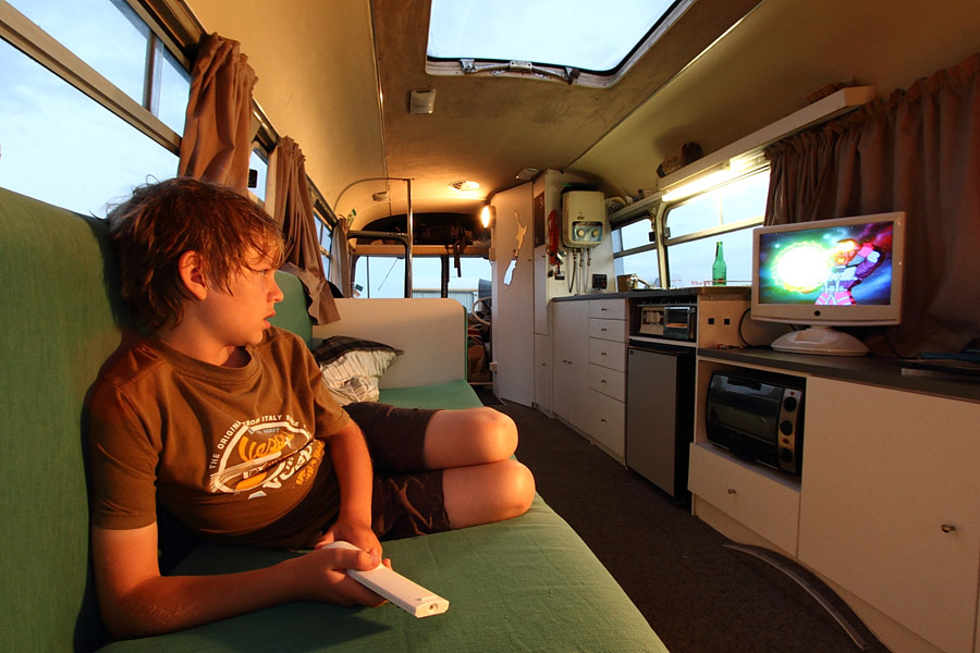 Bedford Bus to Tiny House Conversion