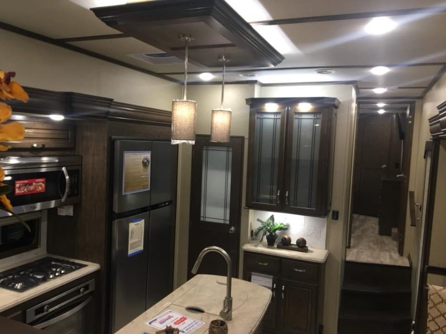 Former Military Couple's Renovated RV 11