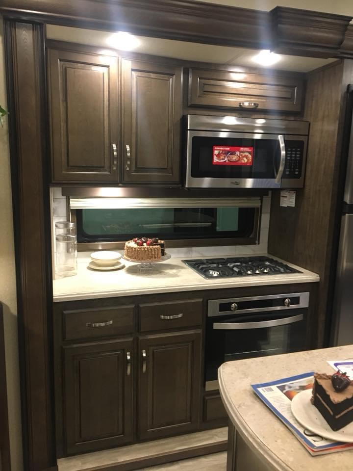 Former Military Couple's Renovated RV 12