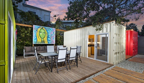 Modern Shipping Container House in Venice, CA