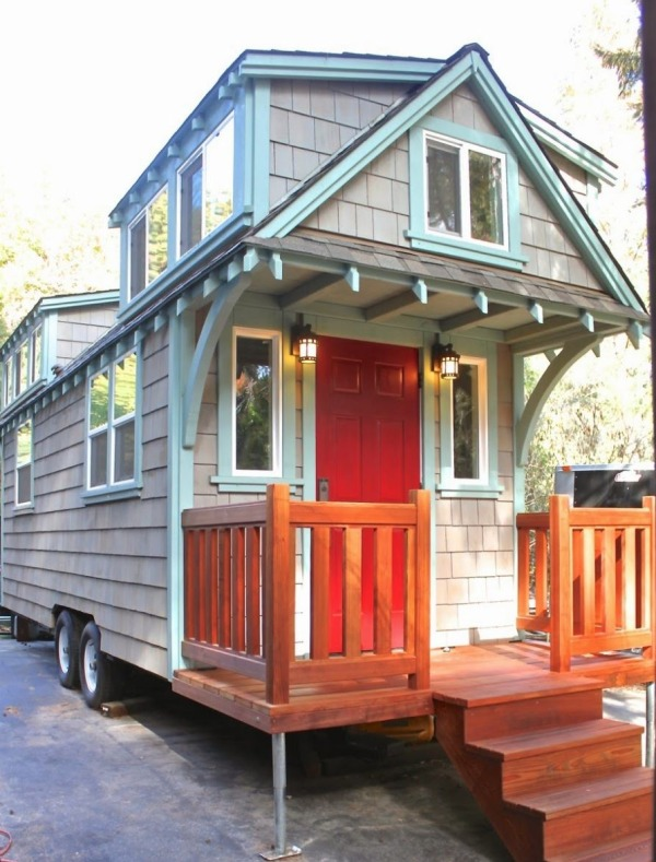 170 Sq. Ft. Craftsman Bungalow Molecule Tiny Home