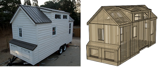Dan Louche's Tiny House Design
