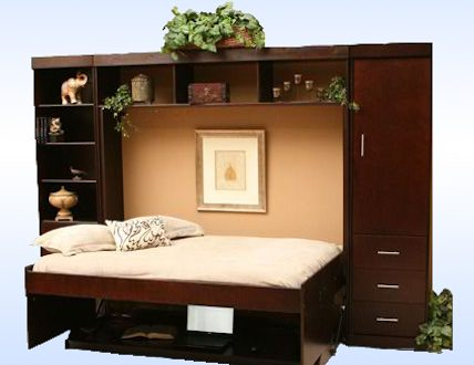 Desk that Turns to Bed