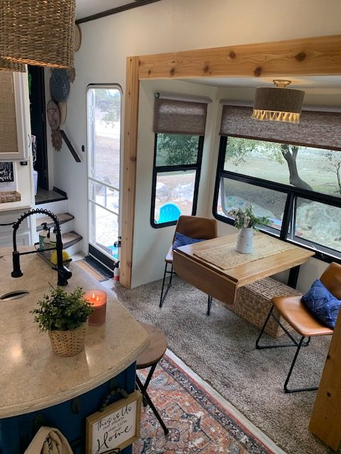 Former Military Couple's Renovated RV 15