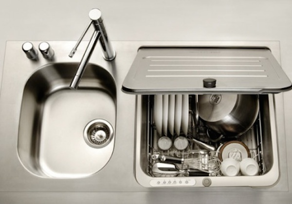 space saver kitchen sink space saving kitchen ideas combo sink and dishwasher 5629