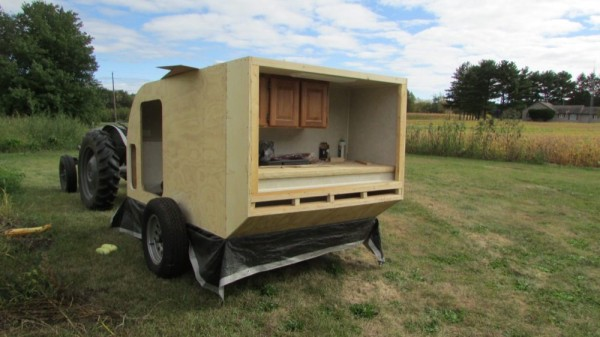 DIY Micro Camping Trailer I Built for $2900