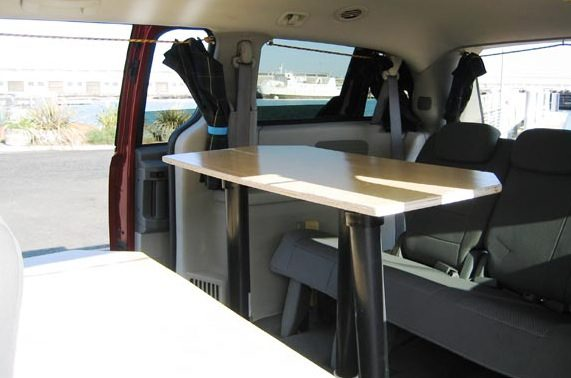 Dodge Minivan Turned To Micro Camper Rv 05